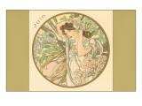 Art Nouveau Juin Prints