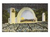Night Concert, Washington Park, Milwaukee, Wisconsin Kunstdrucke