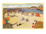 La Jolla Cove, San Diego, California Poster