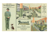 Berney's, Jacksonville, Florida Posters