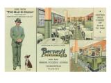 Berney's, Jacksonville, Florida Posters