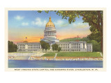State Capitol, Charleston, West Virginia Prints