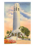 Coit Tower, Telegraph Hill, San Francisco, California Prints