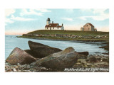 Lighthouse, Wickford, Rhode Island Print