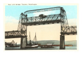 Lift Bridge, Tacoma, Washington Posters
