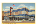 Greyhound Bus Depot, Charleston, West Virginia Poster