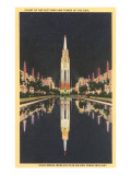 Buildings from World's Fair, San Francisco, California Posters