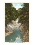 Lace Waterfalls, Natural Bridge, Virginia Posters
