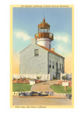 Cabrillo Lighthouse, Point Loma, San Diego, California Poster