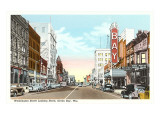 Washington Street, Green Bay, Wisconsin Print