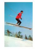 Airborne Skier Prints