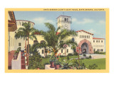 Courthouse, Santa Barbara, California Print