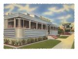 Pelican Diner, Retro Posters