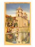 Fiesta Days, Santa Barbara, California Prints