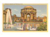 Palace of Fine Arts, San Francisco, California Prints