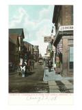 Thames Street, Newport, Rhode Island Prints
