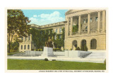 Lincoln Monument, University, Madison, Wisconsin Posters