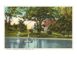 Elmwood Park, Roanoke, Virginia Print