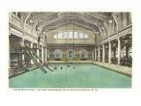 Pool, Greenbrier Hotel, White Sulphur Springs, West Virginia Posters