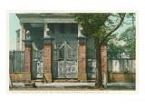 Old Charleston Gate, Charleston, South Carolina Prints