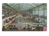 Interior, Sutro Baths, San Francisco, California Posters