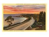 Coast Highway, Santa Barbara, California Posters
