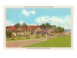 Hotel Del Mar, Del Mar, California Poster