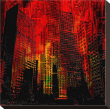 Cityzart I Stretched Canvas Print