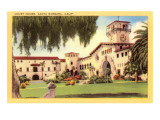 Courthouse, Santa Barbara, California Posters