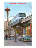 Alweg Monorail, Seattle, Washington Prints