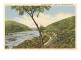 Harper's Ferry and Potomac River, West Virginia Print