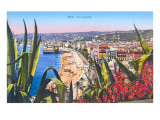 General View of Nice, France Posters