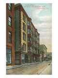 Aborn Street, Newman Hotel, Providence, Rhode Island Prints
