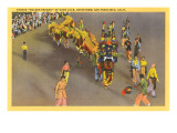 Chinatown Parade, San Francisco, California Poster