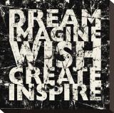 Marble Dream Imagine Płótno naciągnięte na blejtram - reprodukcja autor Carole Stevens