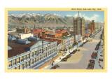 Main Street,  Salt Lake City, Utah Poster