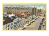 Main Street, Salt Lake City, Utah Photo