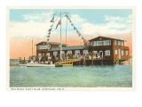Yacht Club, Coronado, San Diego, California Posters