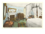 Nellie Custis Room, Mt. Vernon, Virginia Prints