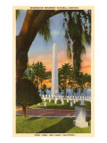 Bennington Monument, San Diego, California Prints