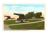 Cannon near Battle Monument, Bennington, Vermont Prints