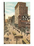 Second Avenue, Seattle, Washington Prints