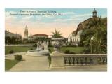 Botanical Building, Panama Exposition, San Diego, California Posters