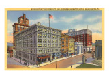 Washington Trust Building, Washington, Pennsylvania Prints