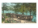 Last Packet Boat, James River Canal, Virginia Prints