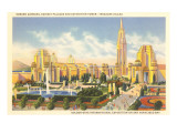 World's Fair Buildings, San Francisco, California Posters