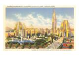 World's Fair Buildings, San Francisco, California Prints