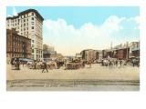 Dyer Street, Providence, Rhode Island Print
