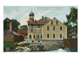 Old Slater Mill, Pawtucket, Rhode Island Kunst