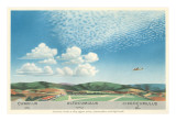 Cumulus, Altocumulus and Cirrocumulus Clouds Posters